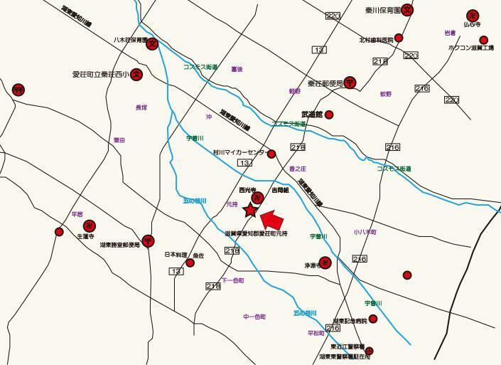 現況写真 地図