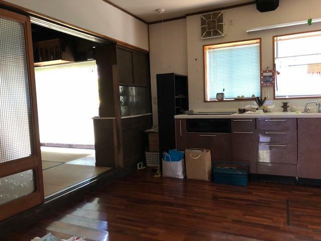 キッチン 旧診療所のキッチン