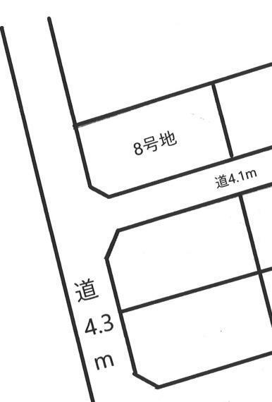 土地図面 区画予定図