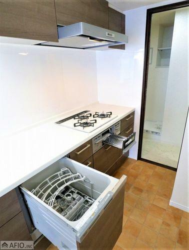 キッチン 家事がはかどるビルトイン食器洗浄乾燥機