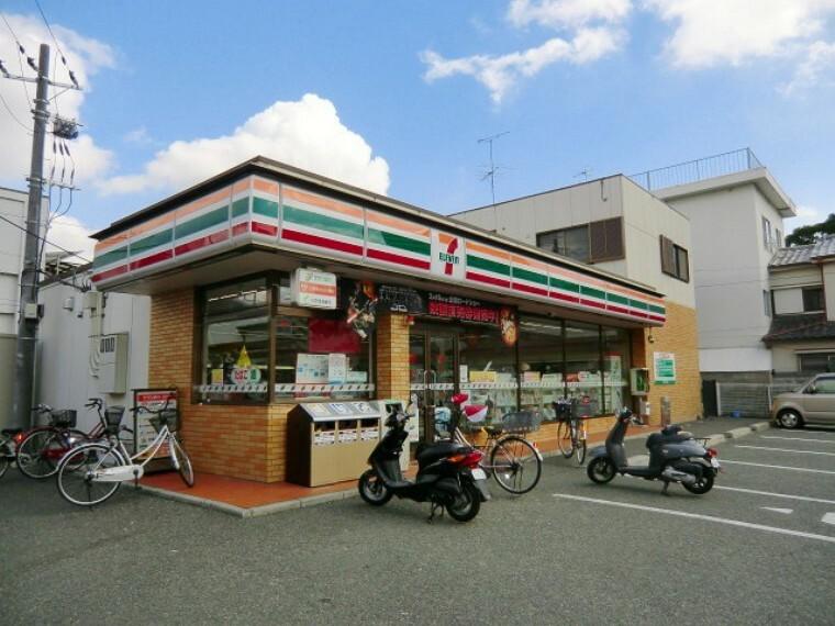 コンビニ 【コンビニエンスストア】セブンイレブン 尼崎武庫元町店まで558m