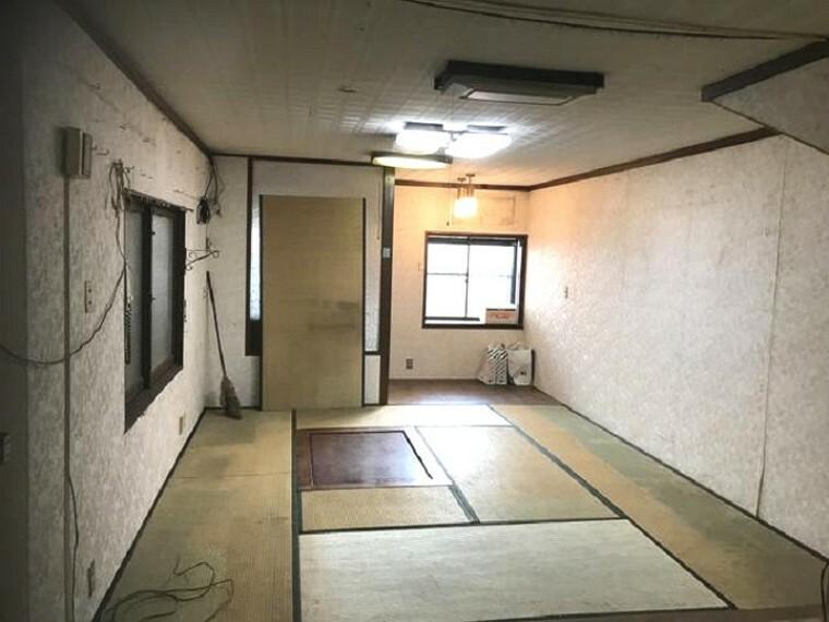和室 南に面した和室は採光・通風に優れた心地よい空間です。