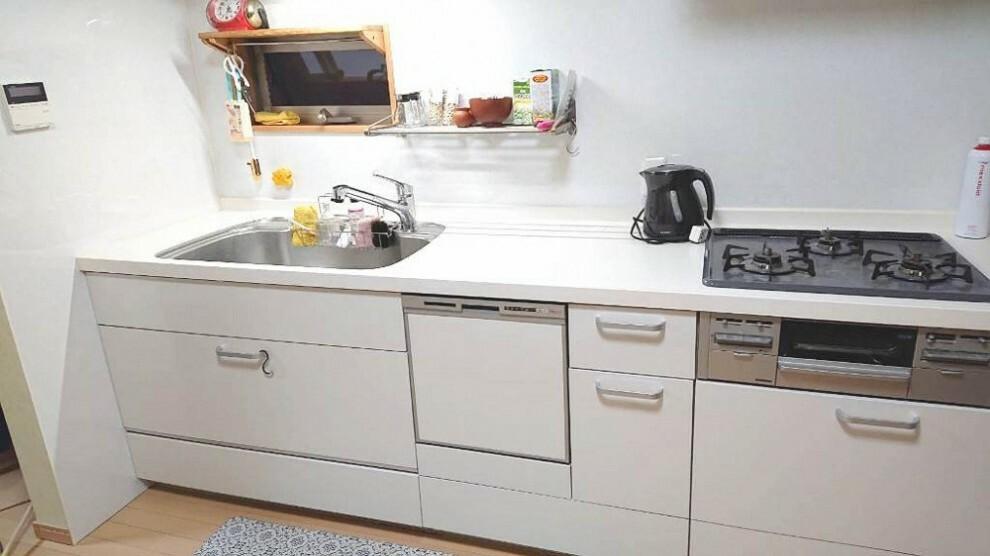 キッチン 毎日使うキッチンがきれいだとお料理も楽しくなります