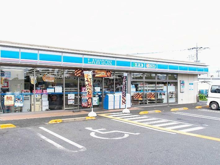 コンビニ ローソン八潮西袋店 埼玉県八潮市大字西袋856-1