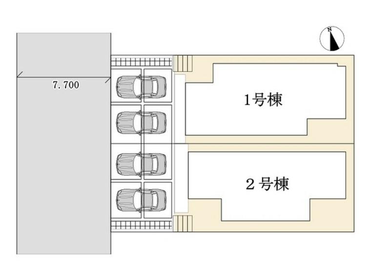 区画図 区画図■多摩市聖ヶ丘1 新築一戸建て■