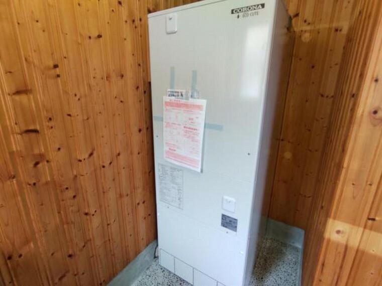 発電・温水設備 オール電化のおうちです。給湯はエコキュートで行います。2018年製です。