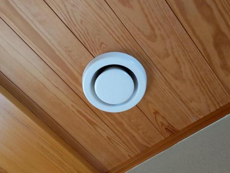 冷暖房・空調設備 24時間換気の排気口です。