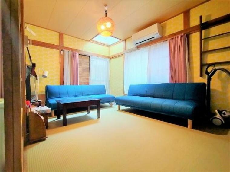 和室 ご家族でくつろぐ空間として。家事部屋、お子さまを遊ばせる空間として。客間としてなど広い用途で使用できる和室です。
