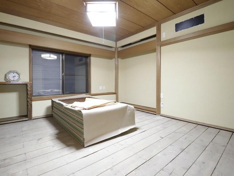 和室 和室があると日本の文化を感じます。和室から眺める風景も楽しみですね。