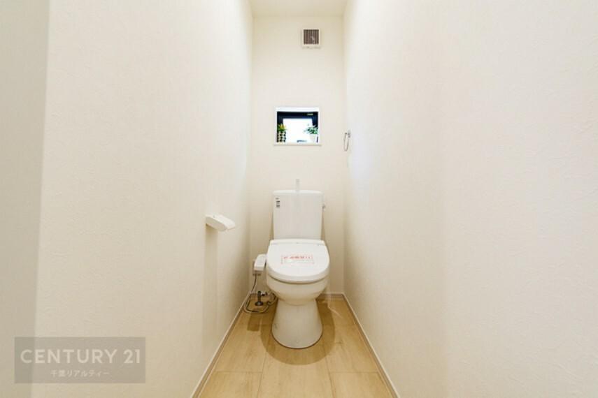 トイレ トイレはシャワートイレ&暖房便座付きです。