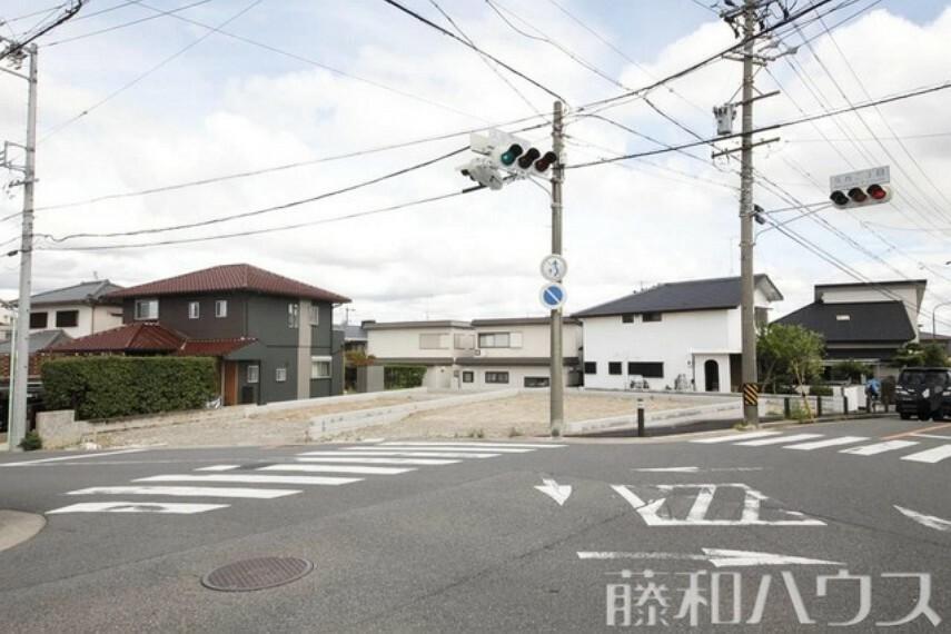現況写真 8/20撮影 現地 【名古屋市天白区高坂町】