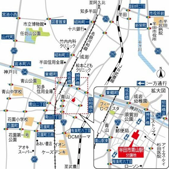区画図 現地案内図