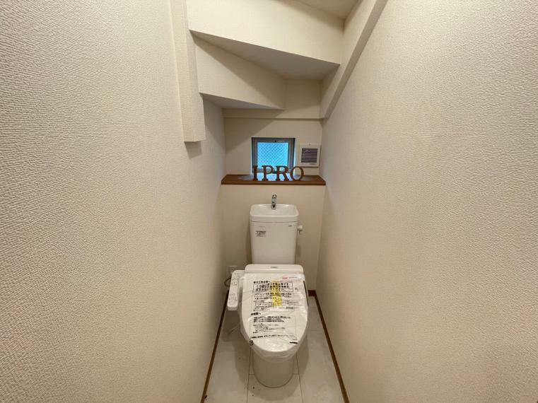 トイレ トイレは2か所に設置しました  いつでもゆっくり使うことができます