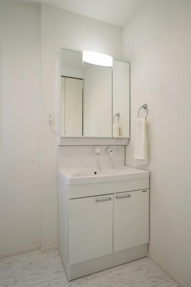洗面化粧台 【1号棟】シャワー付き洗面台