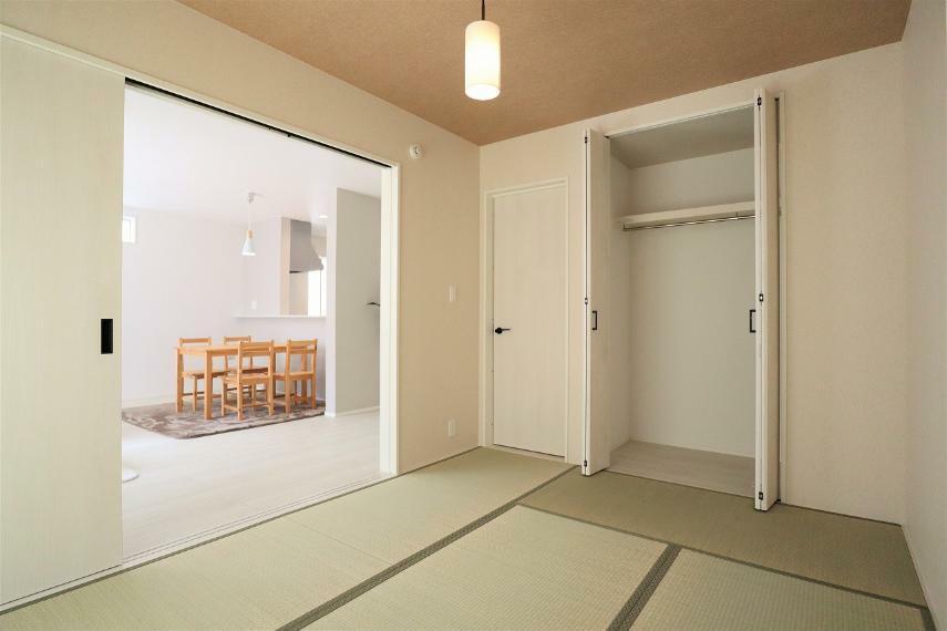 収納 【1号棟】和室6帖・クローゼット