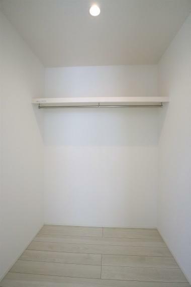 収納 【1号棟】主寝室8.5帖・WIC
