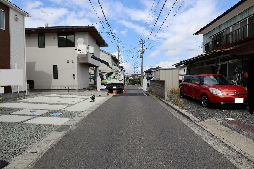 現況写真 【前面道路】北側幅員約4.5m公道