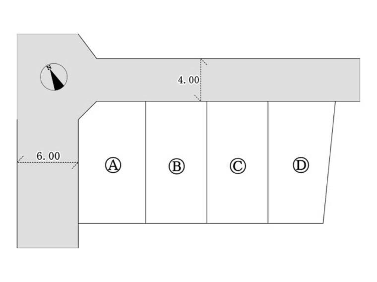区画図 区画図■日野市神明3丁目 新築一戸建て■