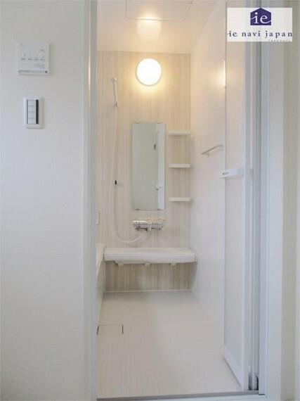 浴室 折れ戸&バスタオルハンガー!暖房・冷風でパパをいたわりましょう!