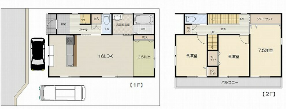 間取り図 4LDK+小屋裏収納