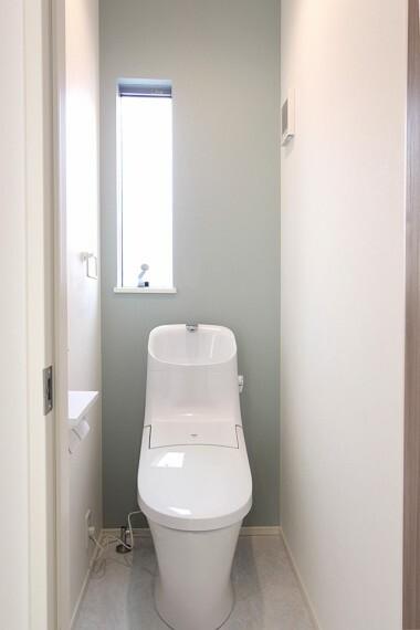 トイレ 清潔感のあるトイレです