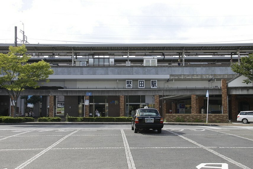 JR湖西線「堅田駅」