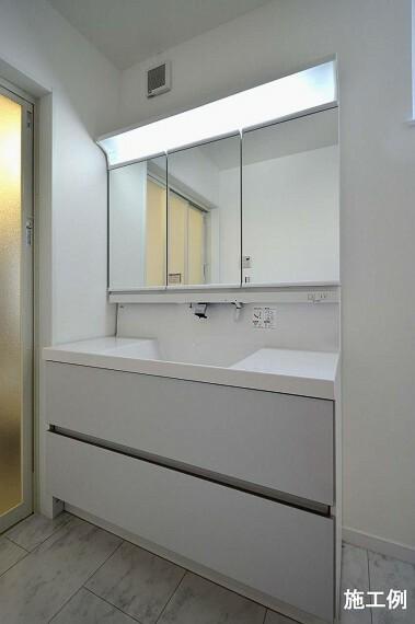 TAISEIこだわりの参考プラン:洗面室