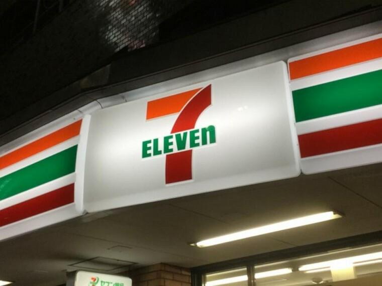 コンビニ セブンイレブン和光新倉2丁目店(徒歩10分。ちょっとしたお買い物に便利です^^)