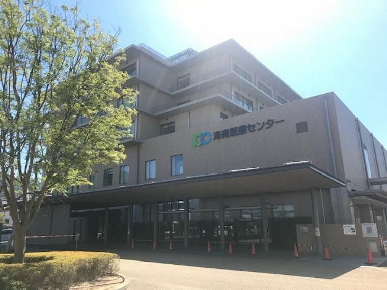 病院 海南医療センター 約3200m(徒歩40分)/令和2年8月撮影 距離表示は、1号地を起点としています。距離・時間は地図上の概算で、徒歩時間は80m=1分として換算したものです。