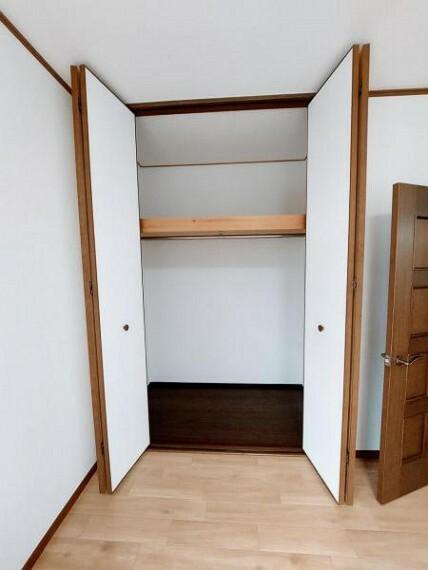 収納 クローゼットがあるのでお部屋を広く使えますね