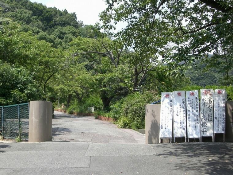 中学校 【中学校】芦屋市立山手中学校まで63m