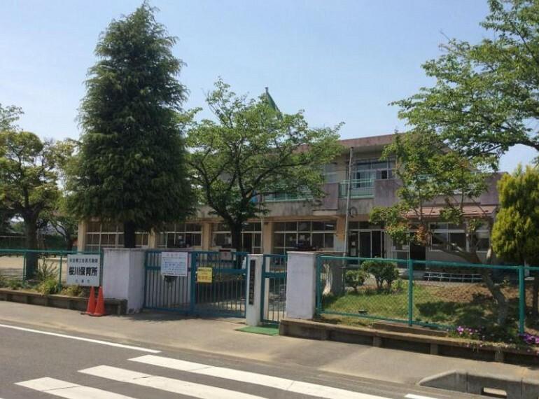 幼稚園・保育園 【保育園】土浦市立 桜川保育所まで760m
