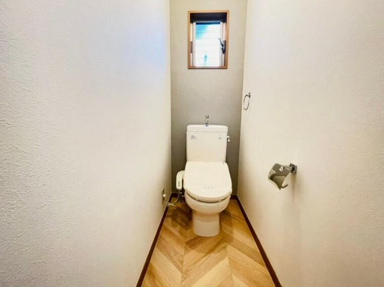 トイレ 新規交換済みのお手洗い。ゆったりとした空間になっております