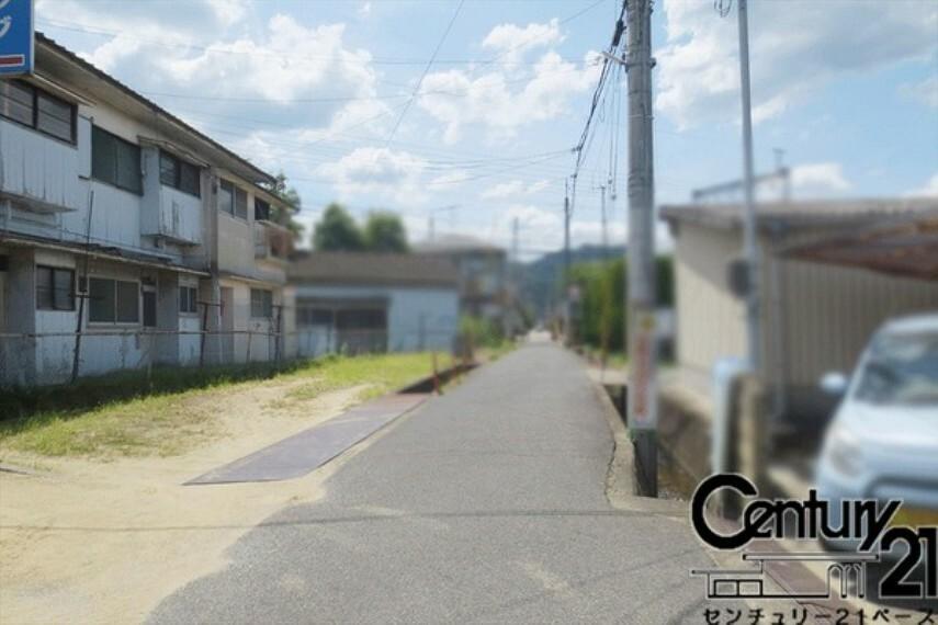 現況写真 ■車通りが少ないです!「當麻駅」徒歩2分!通勤・通学に便利です!■