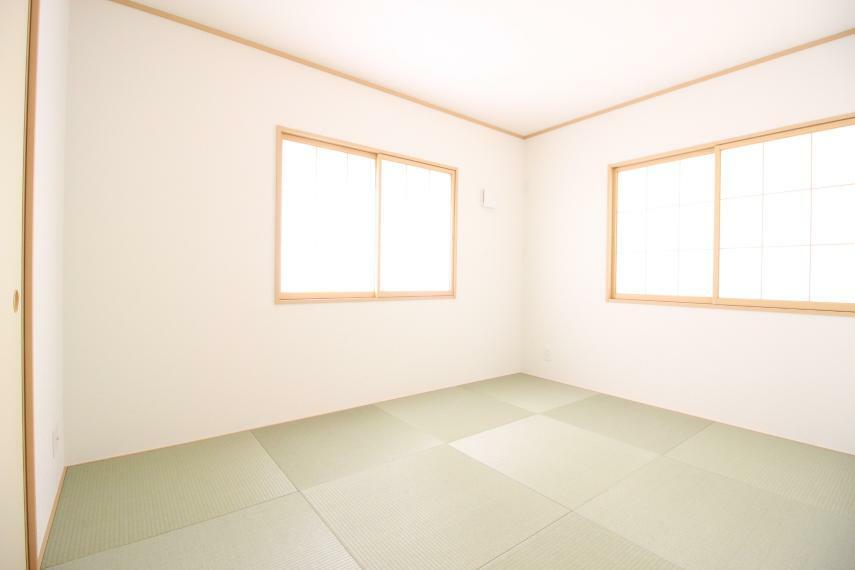 和室 和室があれば客間としても活用できます 同社施工例