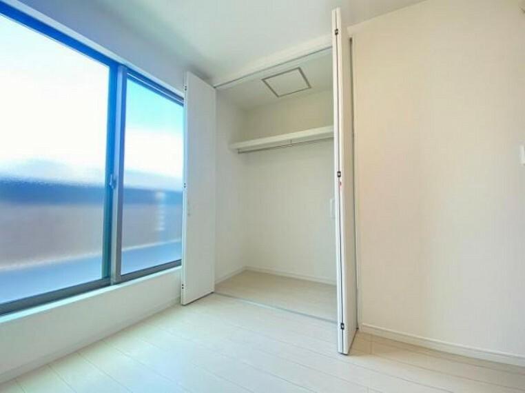 収納 各居室に収納スペースがあり、収納に困りません