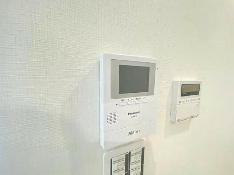 TVモニター付きインターフォン 防犯面の安心なTVモニター付きインターホン