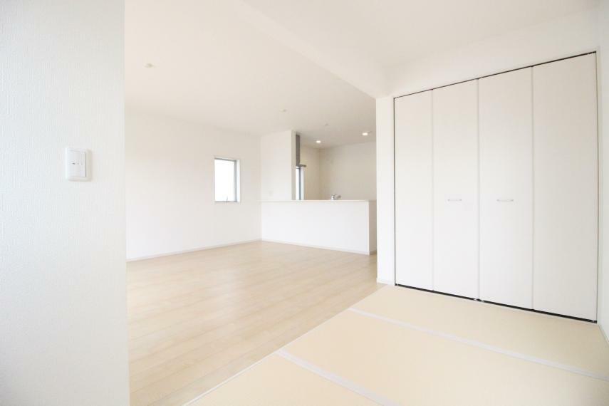 和室 和室コーナーがあれば客間としても活用できます 同社施工例