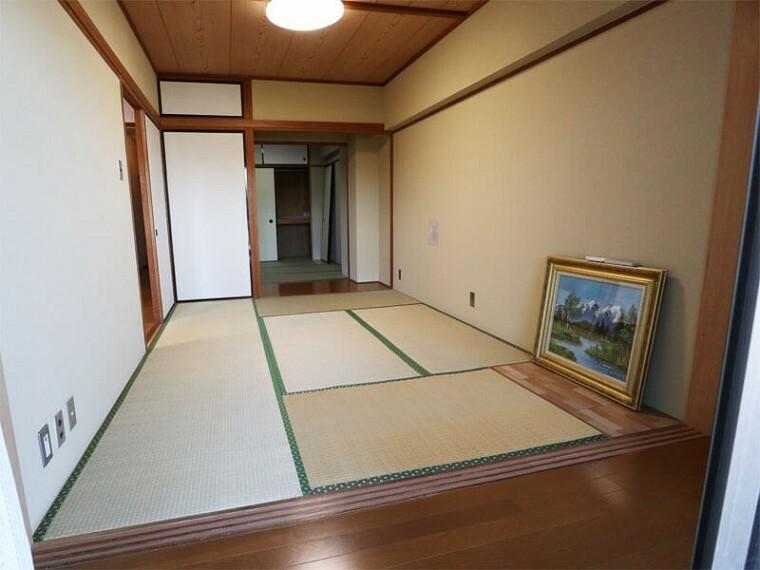 居間・リビング 和室6畳