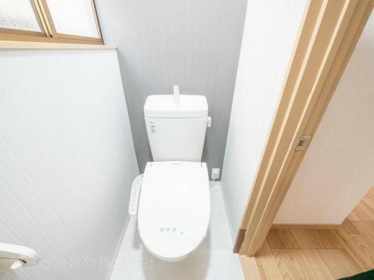 トイレ 【トイレ】洗浄便座など清潔感があり充実設備です