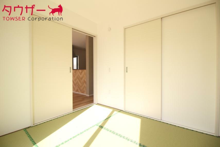 和室 広々の6畳の和室です! 同社施工例