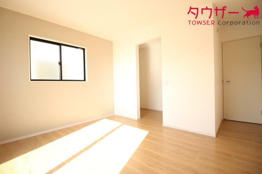 寝室 寝室 7.7帖の寝室です 同社施工例