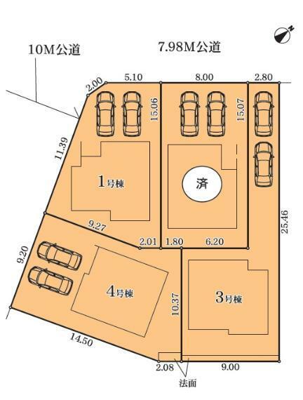 区画図 4号棟
