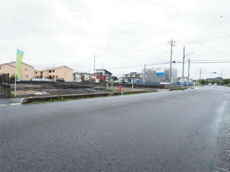 現況写真 前面道路 2021.7撮影