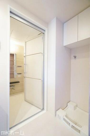 ランドリースペース 洗濯機置き場も広めのスペースを確保しております!是非、現地にてスペースを確認してみてください!