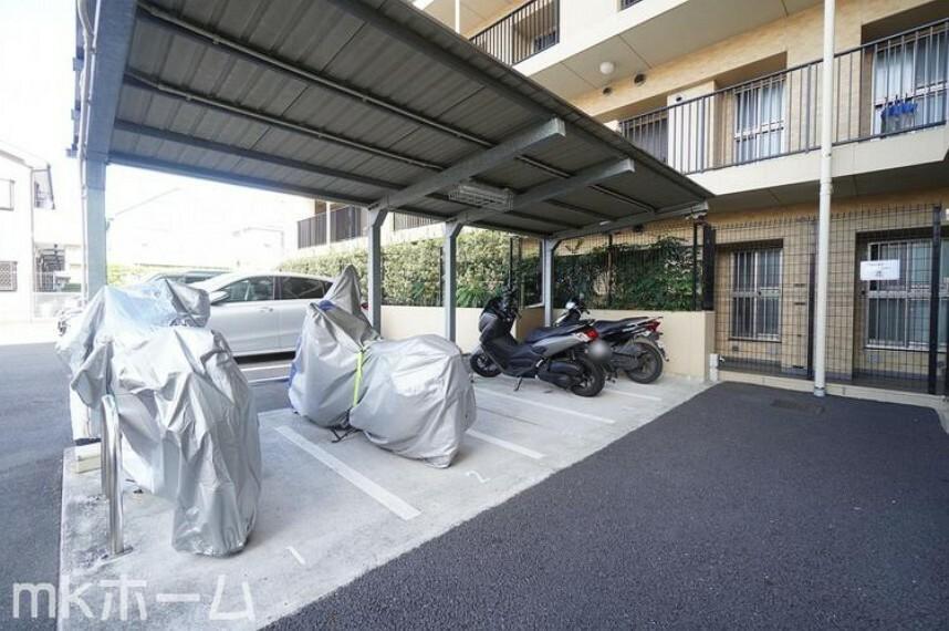 敷地内駐車場 共用部 バイク置場