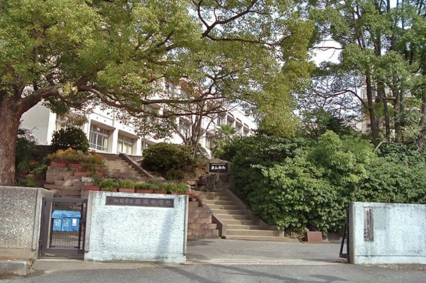 中学校 【中学校】岸和田市立葛城中学校まで1280m
