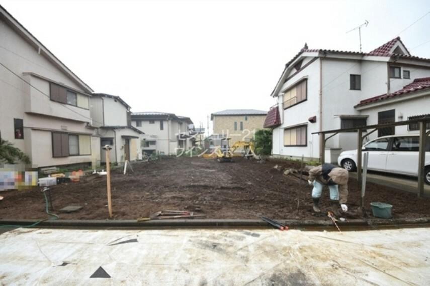 現況外観写真 永く住み続けたい閑静な住宅街に建つ新築2階建て!
