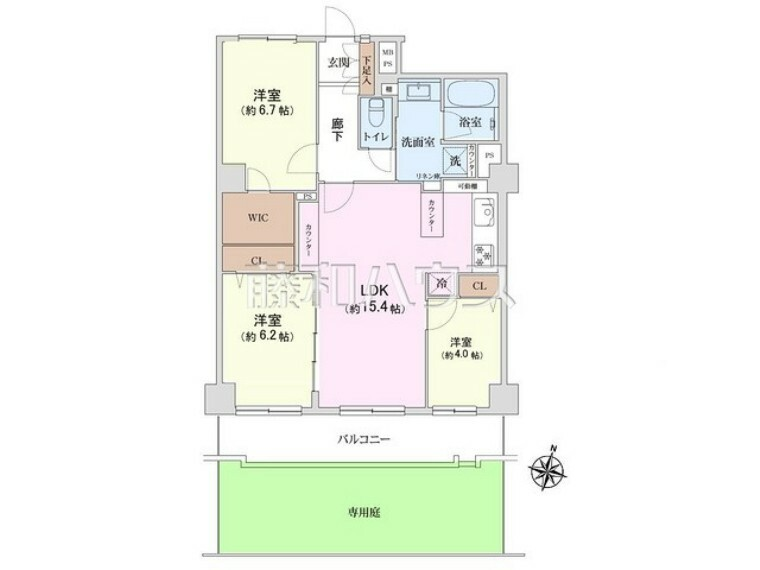 間取り図 間取図 【藤和仙川コープ】