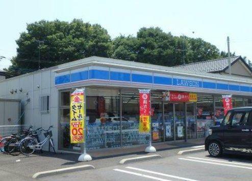 コンビニ ローソン筑西大町店